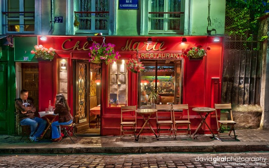 Travel-Exploring-Paris-Montmartre-Restaurant-chez-marie
